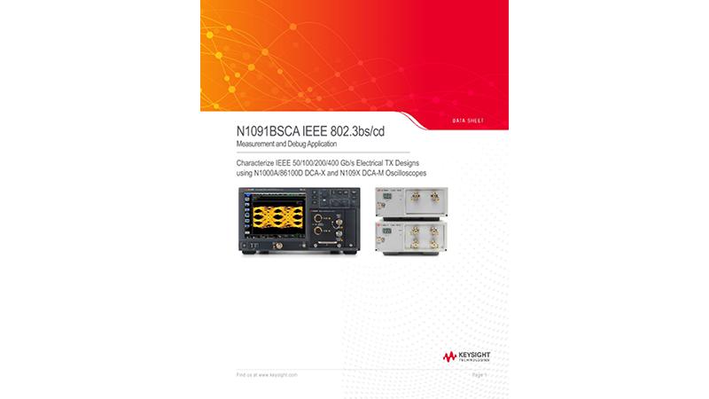 N1091BSCA IEEE 802.3bs/cd