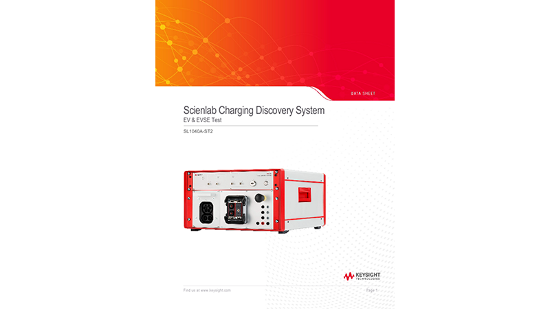 SL1040A-ST2 Scienlab Charging Discovery System – Portable Series