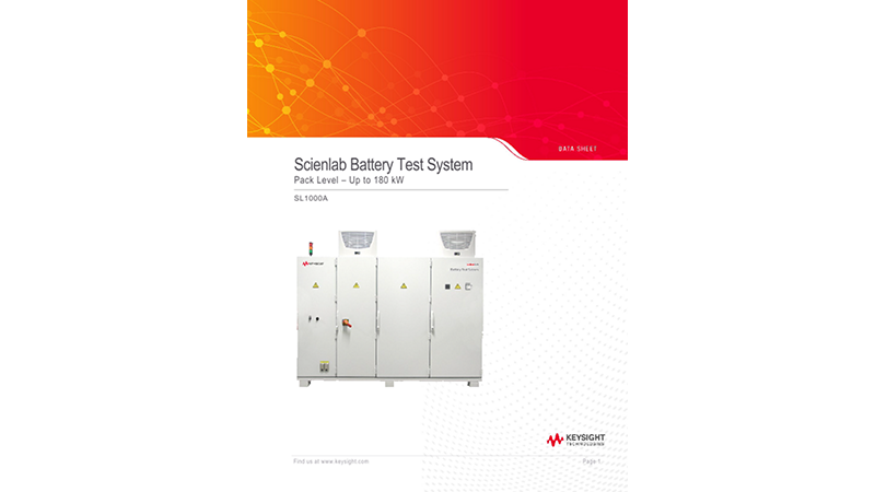 Scienlab Battery Test System - Pack Level 180 kW