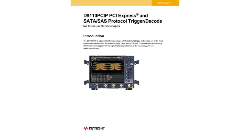 D9010PCIP PCI Express and SATA/SAS Protocol Trigger and Decode