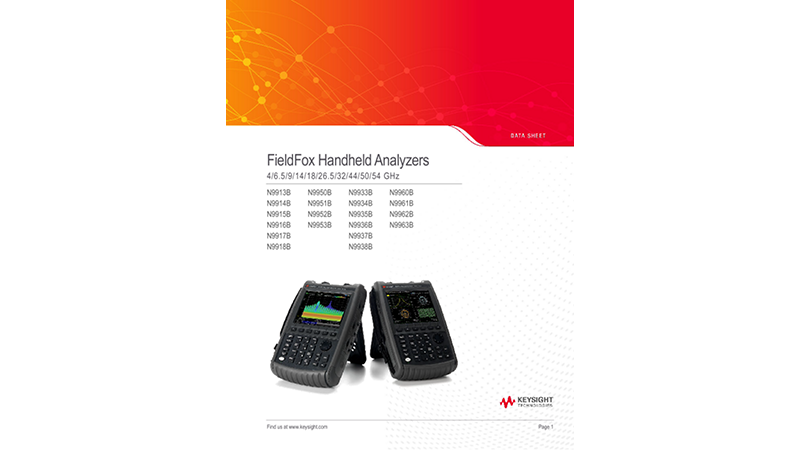 FieldFox Handheld Analyzers