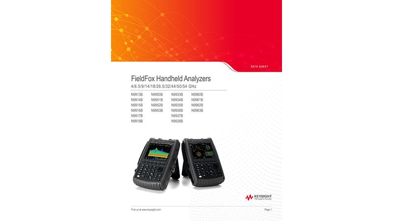 FieldFox Handheld Analyzers