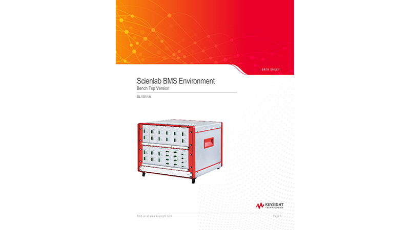 SL1011A Scienlab BMS Environment – Bench Top Version