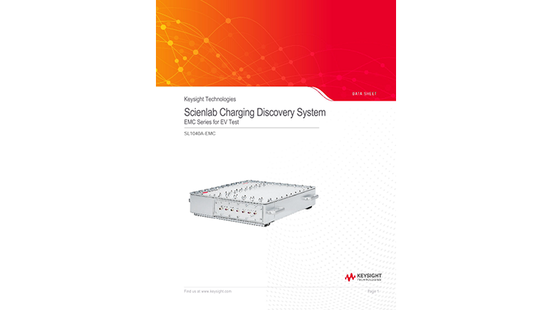 Scienlab Charging Discovery System - EMC Series for EV Test