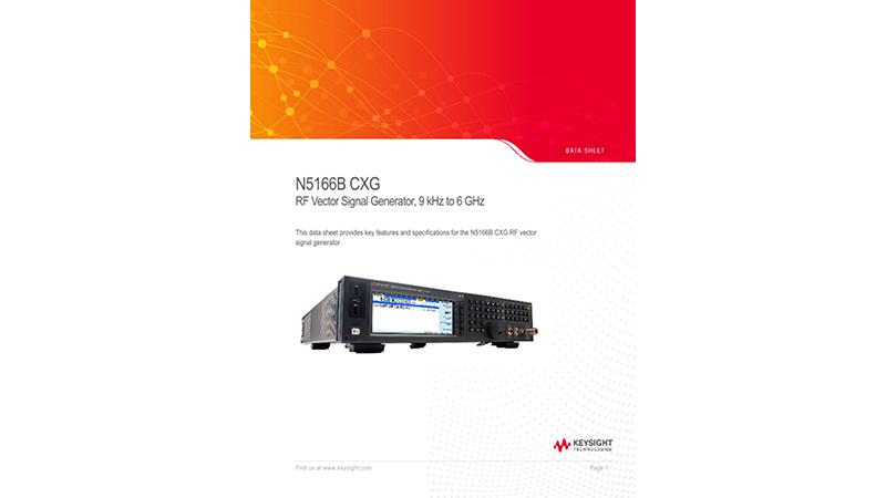 N5166B CXA RF Vector Signal Generator