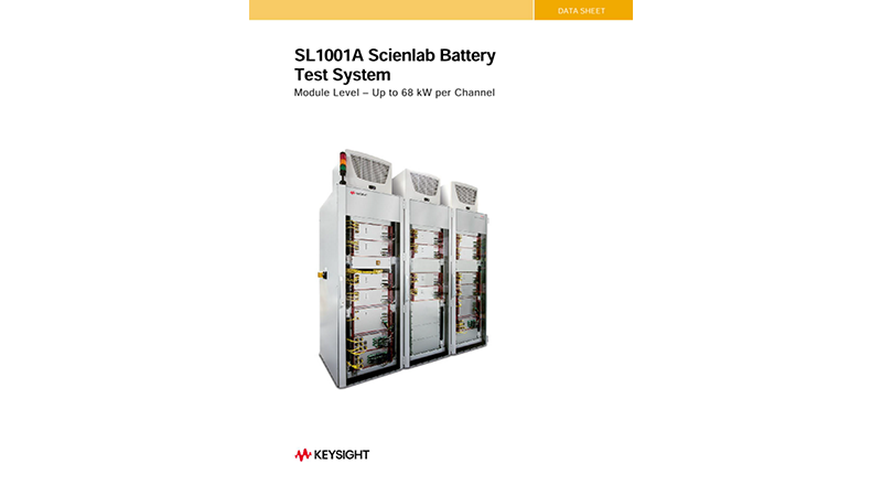 SL1001A/SL1006 Scienlab Battery Test System - Module Level