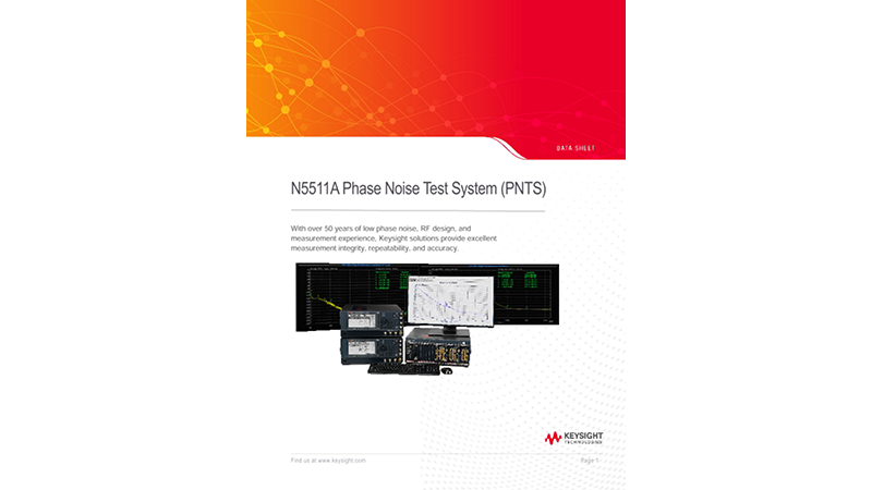 N5511A Phase Noise Test System (PNTS)