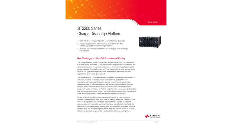 BT2200 Charge-Discharge Platform