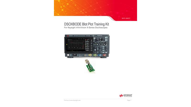 DSOXBODE Blot Plot Training Kit