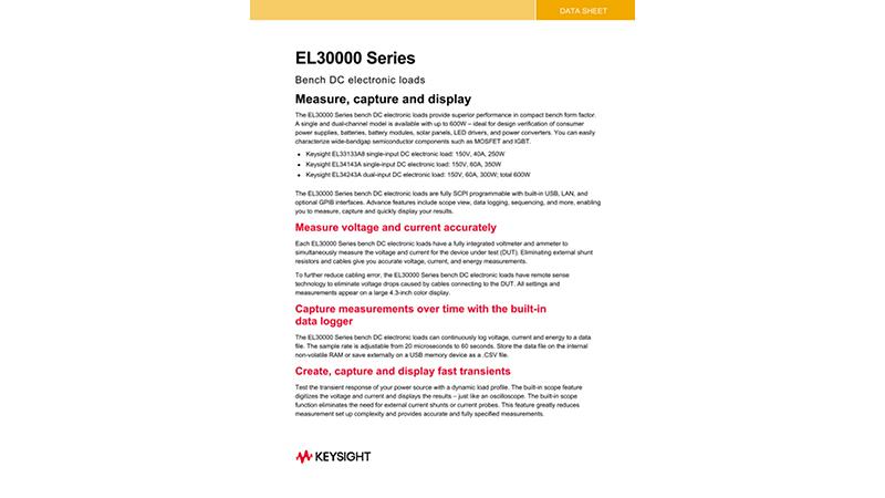EL30000 Series