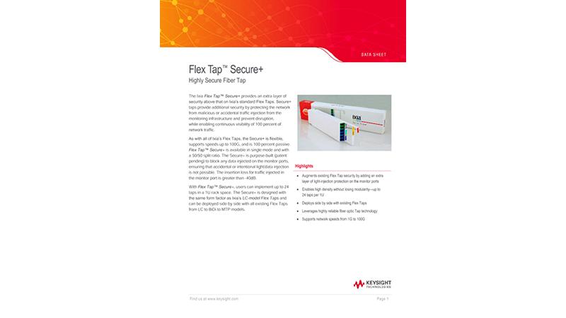 Flex Tap™ Secure+