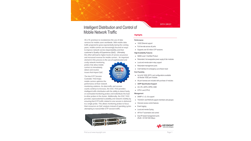 Intelligent Distribution and Control of Mobile Network Traffic