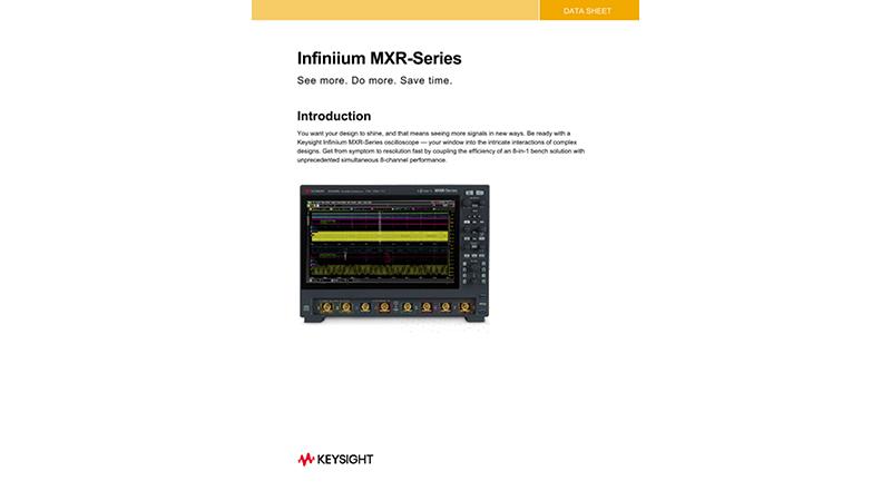 Infiniium MXR-Series