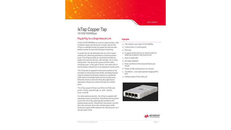 IxTap Copper Tap
