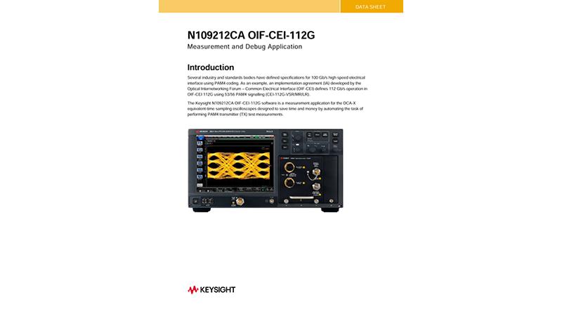 N109212CA OIF-CEI-112G
