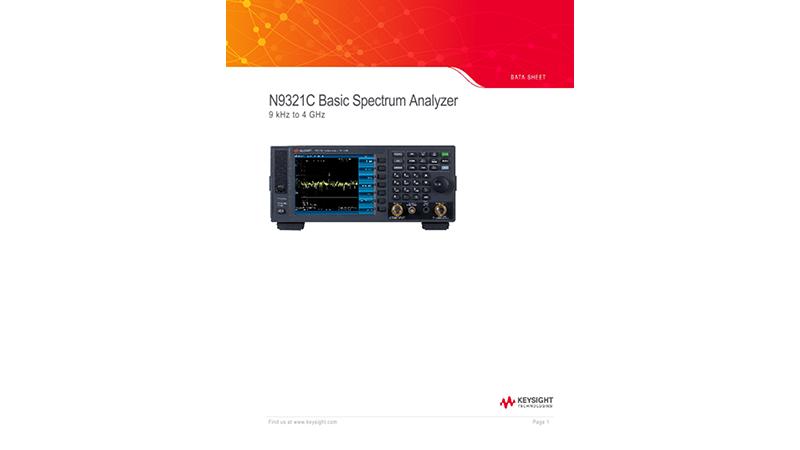 N9321C Basic Spectrum Analyzer