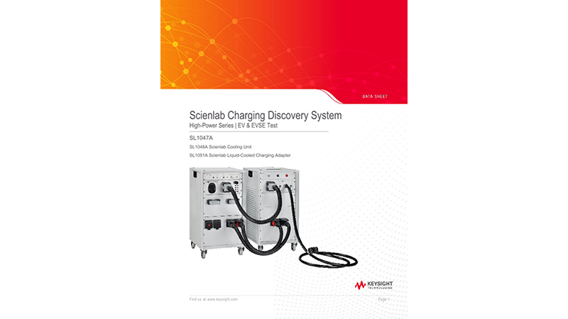 SL1047A Scienlab Charging Discovery System – High-Power Series