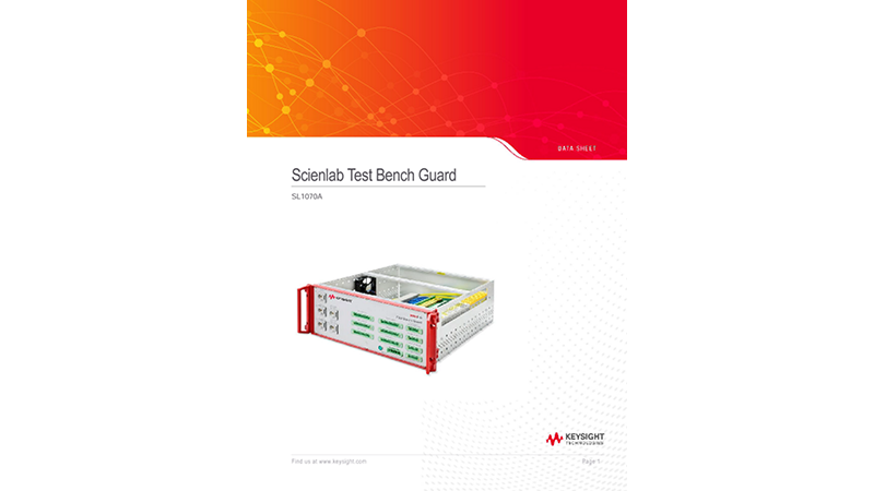 SL1070A Scienlab Test Bench Guard