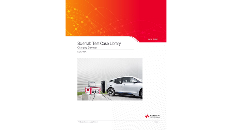 SL1300A Scienlab Test Case Library – Charging Discover