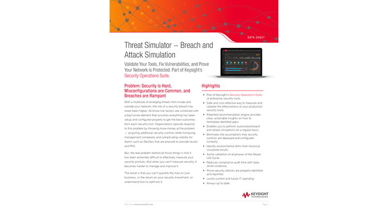 Threat Simulator — Breach and Attack Simulation Platform