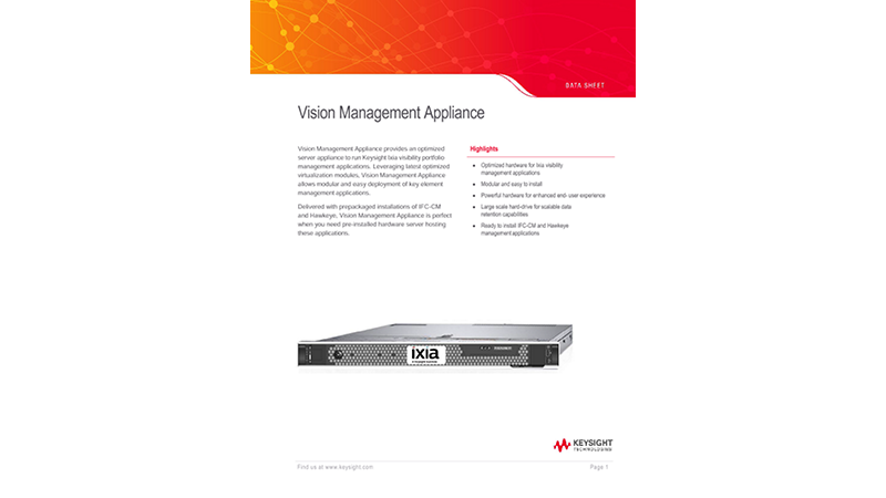 Vision Management Appliance