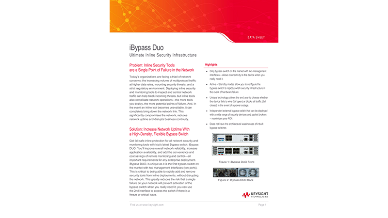 iBypass Duo Ultimate Inline Security Infrastructure