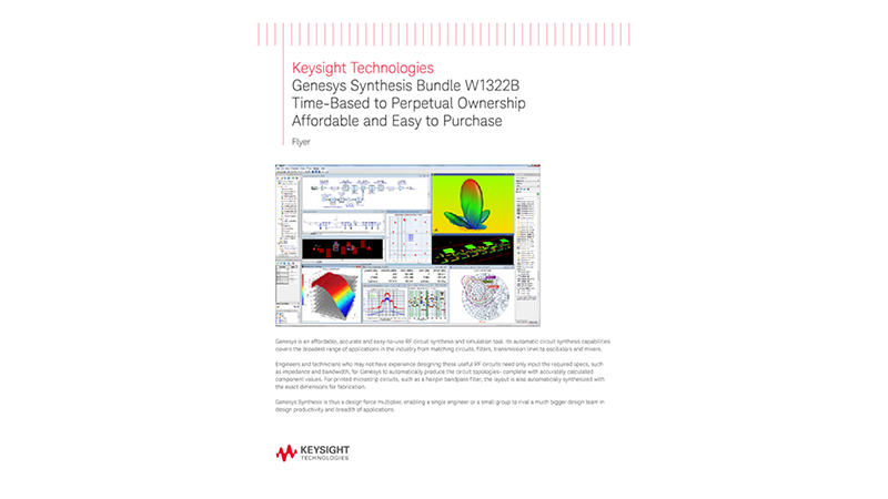 Genesys Synthesis Bundle W1322B Time-Based to Perpetual Ownership Affordable and Easy to Purchase - Promotion Fyer