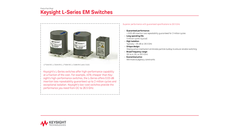 L-Series EM Switches