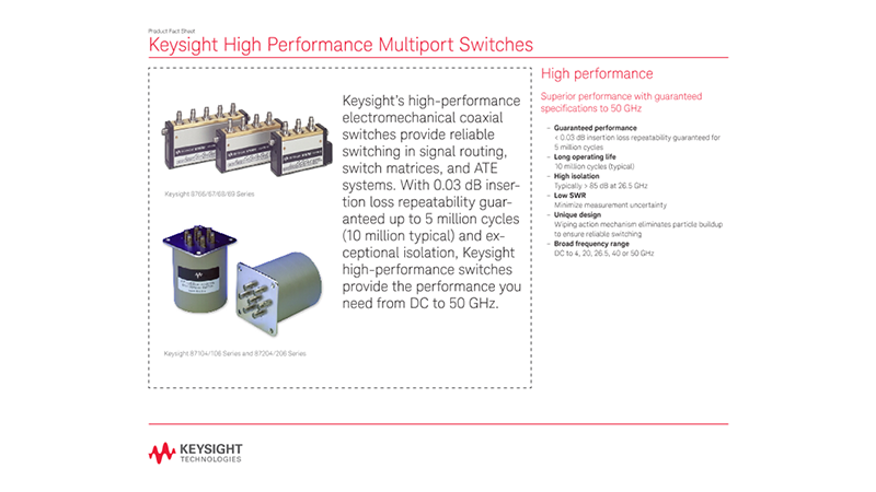 High Performance Multiport Switches