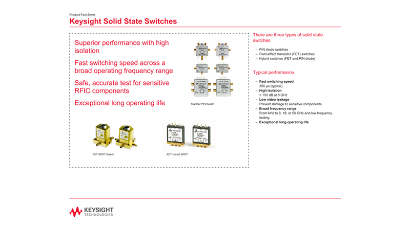 Solid State Switches