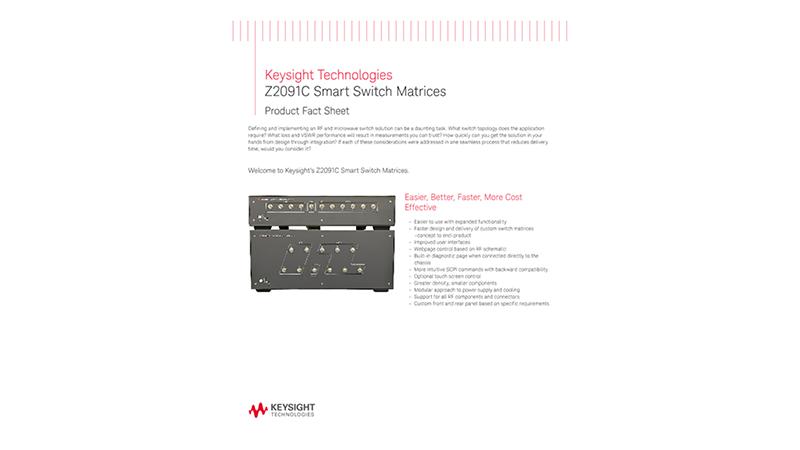 Z2091C Smart Switch Matrices
