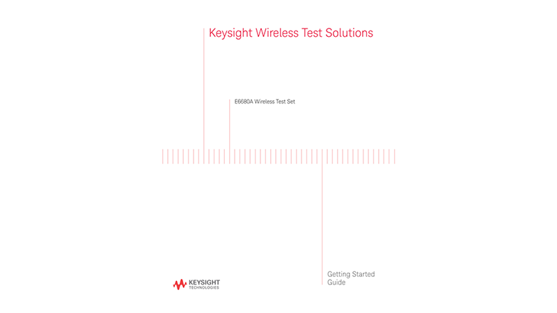 S8780A Wireless Device Solution Getting Started Guide