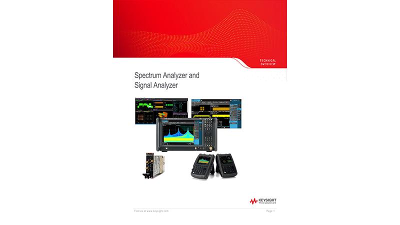 Spectrum Analyzer and Signal Analyzer