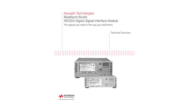Baseband Studio N5102A Digital Signal Interface Module