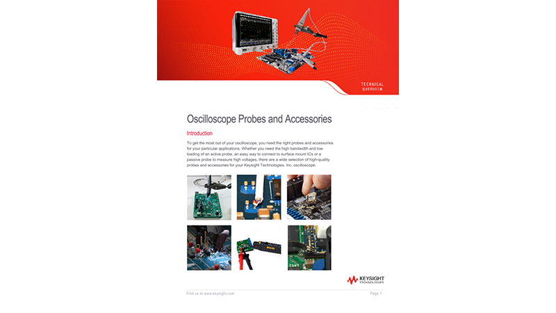 Oscilloscope Probes and Accessories