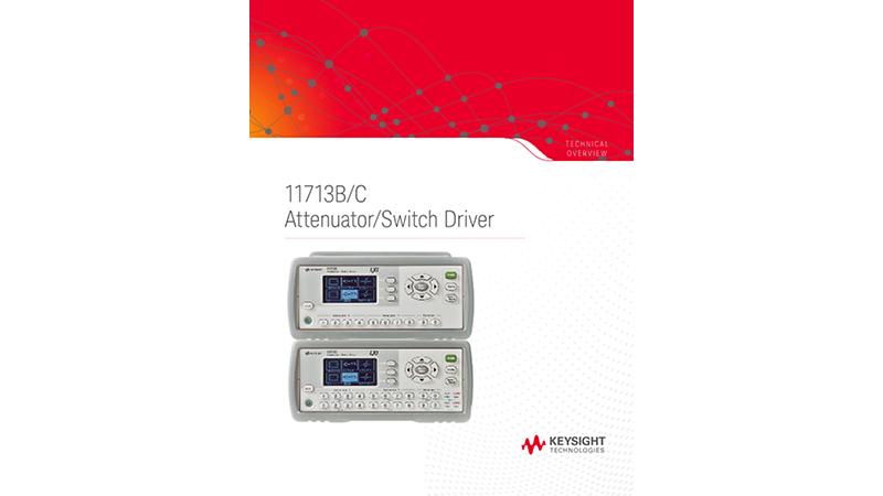 11713B/C Attenuator/Switch Driver