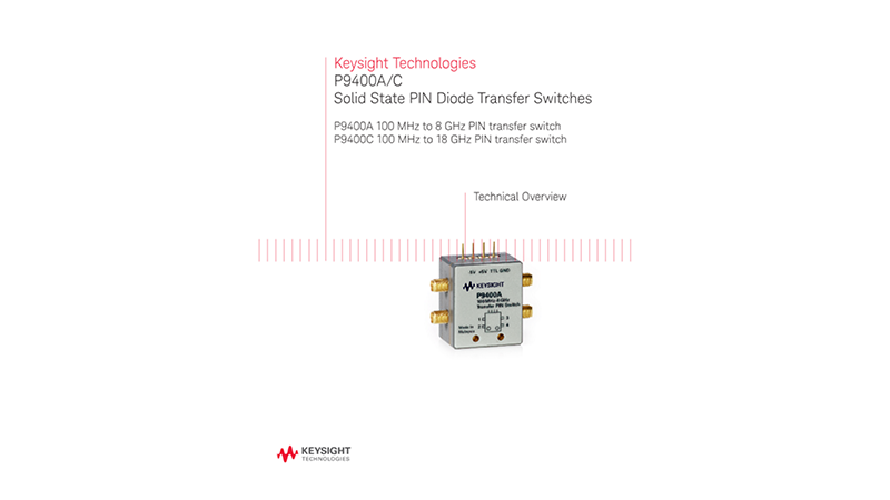 P9400A/C Solid State PIN Diode Transfer Switches