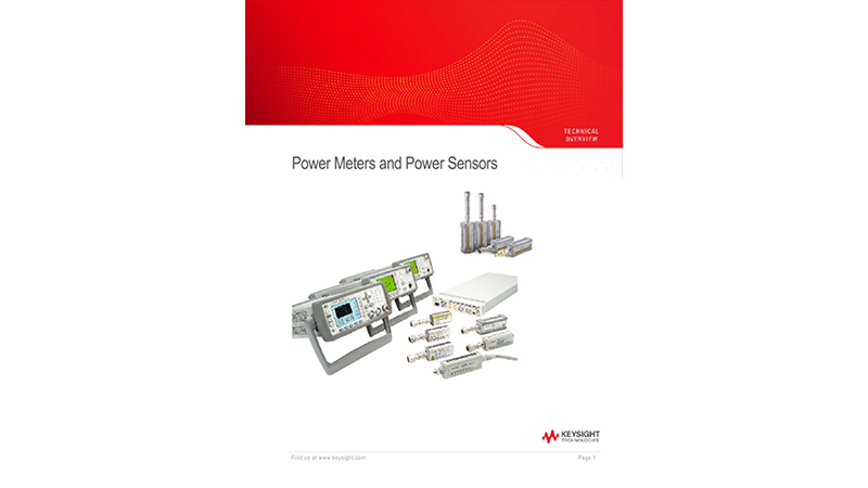 Power Meters and Power Sensors