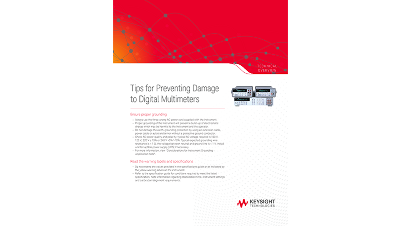 Tips for Preventing Damage to Digital Multimeters
