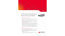 Tips for Preventing Damage to Power Sensors and Meters