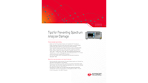 Tips for Preventing Spectrum Analyzer Damage