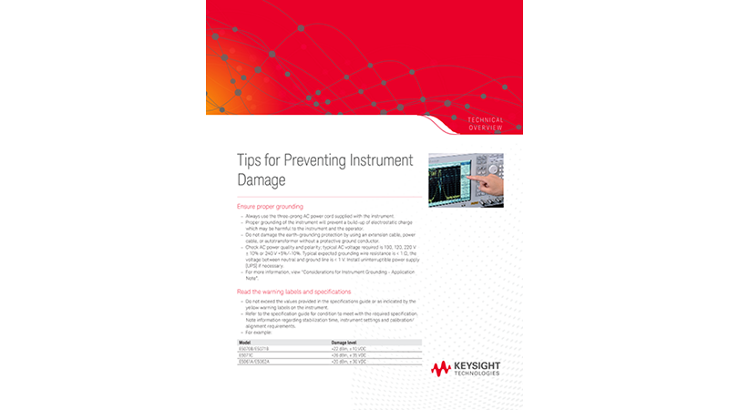 Tips for Preventing Instrument Damage