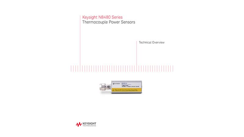 N8480 Series Thermocouple Power Sensors