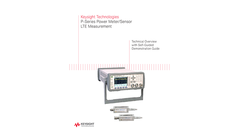 P-Series Power Meter/Sensor LTE Measurement