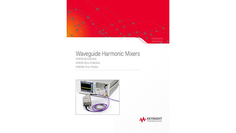 Waveguide Harmonic Mixers