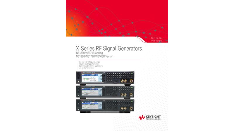 X-Series RF Signal Generators