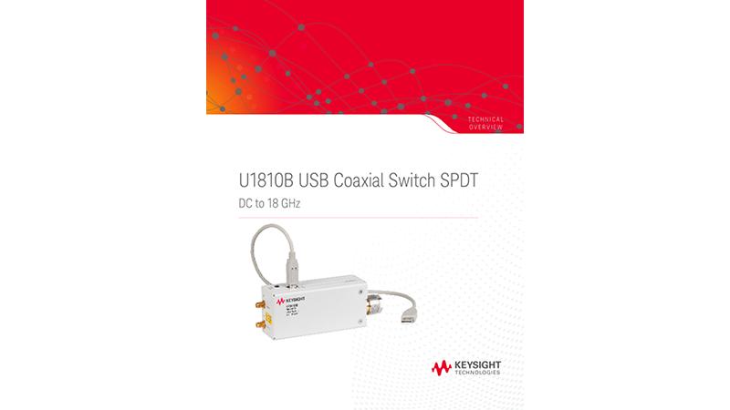 U1810B USB Coaxial Switch SPDT