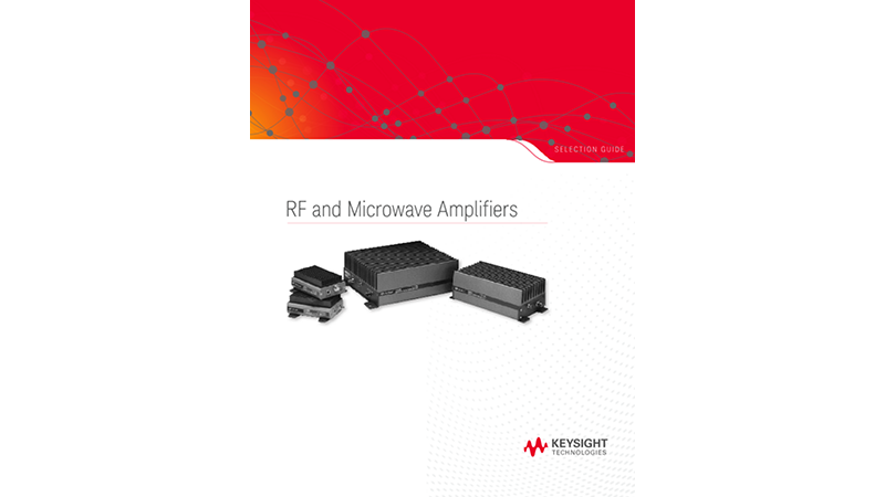 RF and Microwave Amplifiers