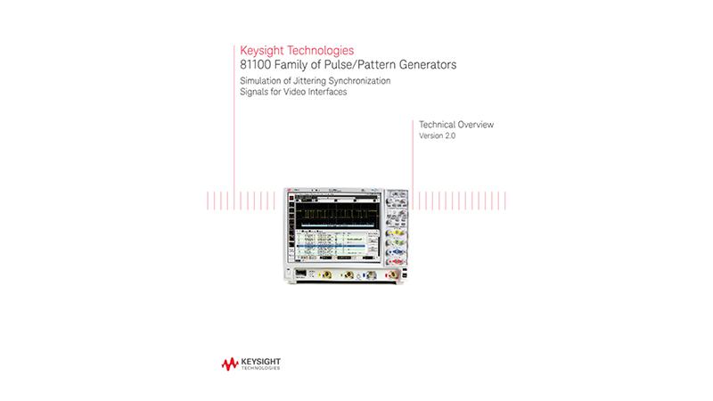 81100 Family of Pulse/Pattern Generators
