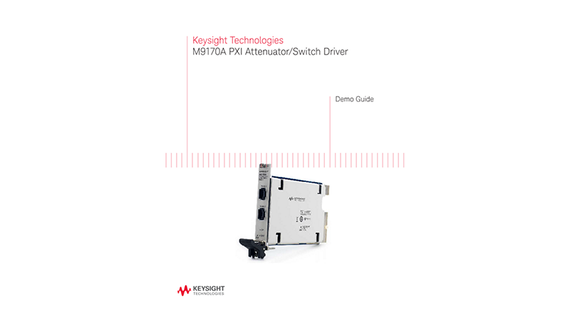 M9170A PXI Attenuator/Switch Driver